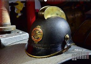Historische Feuerwehrhelme