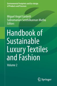 Handbook of Sustainable Luxury Textiles and Fashion 02