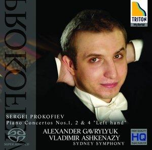 Sergei Prokofiev,Klavierkonzerte 1,2 & 4