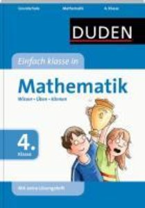 Duden - Einfach klasse in Mathematik 4. Klasse