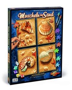 Schipper Malen nach Zahlen: Muscheln im Sand (Quattro)