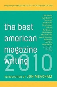 Best American Magazine Writing 2010