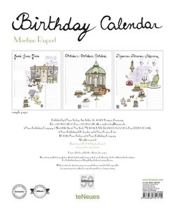 Birthday Calendar Martine Rupert