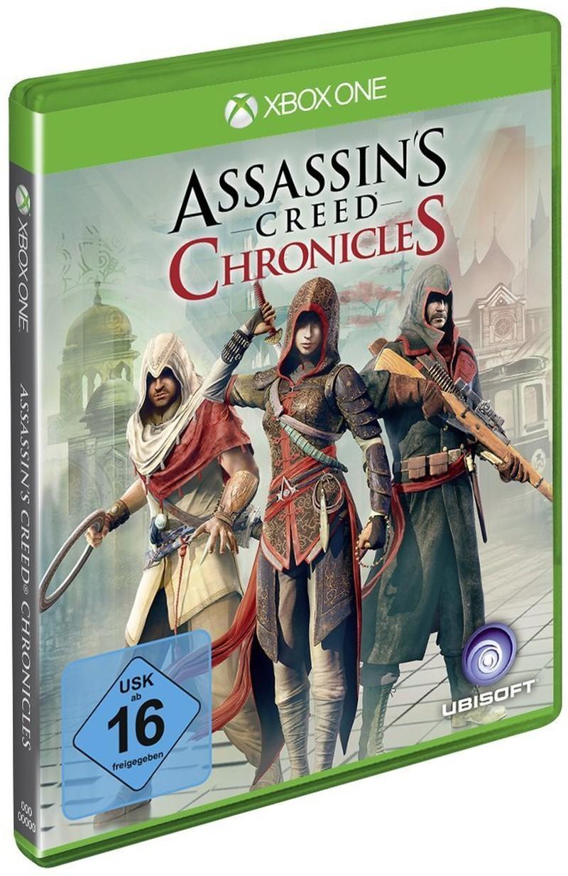 Assassins Creed - Chronicles (China, Indien, Russland) - zum Schließen ins Bild klicken