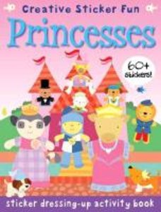 Sticker Dressing-up Activity Book Princesses