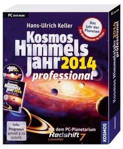 Keller, H: Kosmos Himmelsjahr 2014 professional