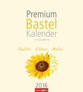 Premium Bastelkalender Champagner 2016