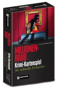 Heidelberger HU247 - Millionenraub: Krimi-Kartenspiel für schnel