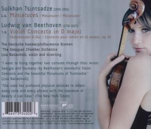 Violin Concerto/Miniatures