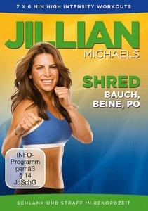 Jillian Michaels - Shred - Bauch, Beine, Po