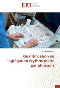 Quantification de l\'agrégation érythrocytaire par ultrasons