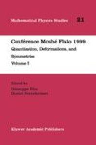 Conférence Moshé Flato 1999