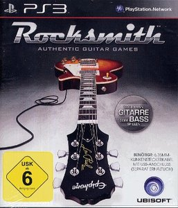 Rocksmith - Authentic Guitar Games (ohne Kabel)