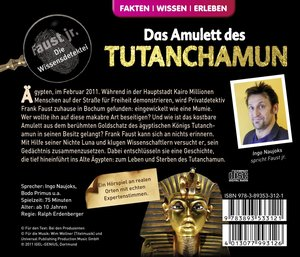 Faust jr. ermittelt 05. Das Amulett des Tutanchamun