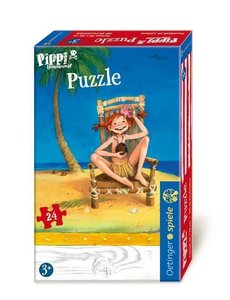 Pippi Langstrumpf Puzzle. 24 Teile