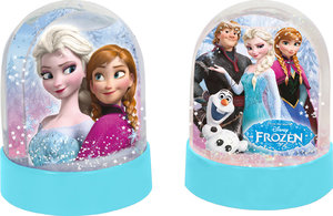 Disney FROZEN - Die Eiskönigin Schneekugel, PS, Sticker sort.