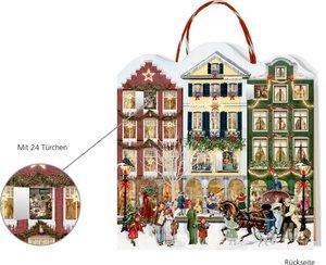Weihnachtsstraße Adventskalender-Tasche