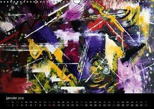 Evasion dans l'imaginaire (Calendrier mural 2016 DIN A3 horizont
