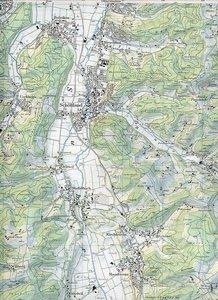 Swisstopo 1 : 25 000 Schöftland