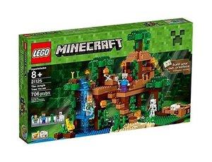LEGO Minecraft 21125 Das Dschungel-Baumhaus