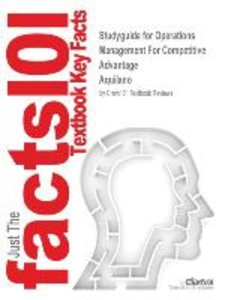 Studyguide for Operations Management For Competitive Advantage b