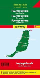 Fuerteventura - Kanarische Inseln 1 : 100 000 Autokarte