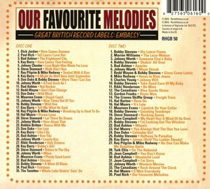 Our Favourite Melodies (Embassy Records)