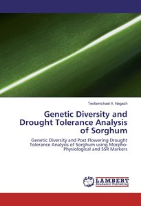 Genetic Diversity and Drought Tolerance Analysis of Sorghum