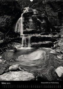Aigner, M: Wasserfälle - rauschende Faszination in Schwarz-W