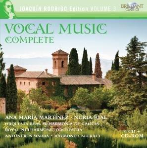 Rodrigo Complete Vocal Music