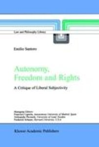 Autonomy, Freedom and Rights