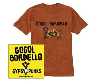 Gypsy Punks-CD+T-Shirt Bundle