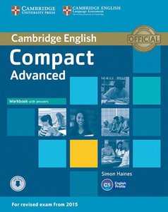 Compact Advanced. Workbook with answers with Audio CD