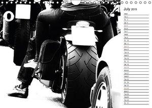 Biker and Bikes / UK-Version / Geburtstagskalender (Wall Calenda