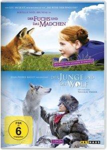Der Fuchs und das Mädchen & Der Junge und der Wolf