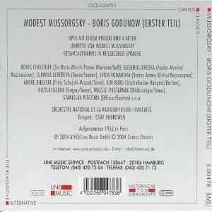 Boris Godunow-Erster Teil