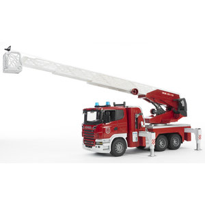 Bruder 3590 - Scania: Feuerwehr Leiterwagen mit L&S Module