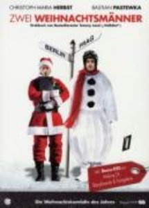 Zwei Weihnachtsmänner
