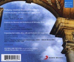 Konzerte für Oboe und Fagott/Concertone