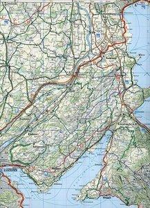 KuF Schweiz Radkarte 11 Luzern - Vierwaldstätter See 1 : 60 000