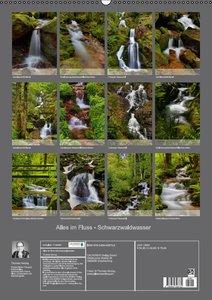 Alles im Fluss - Schwarzwaldwasser (Wandkalender 2016 DIN A2 hoc