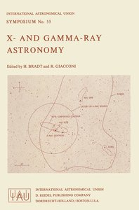 X- and Gamma-Ray Astronomy