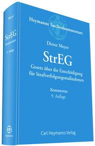 StrEG - Gesetz über die Entschädigung für Strafverfolgungsmaßnah