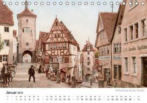 Eine Reise durch das Deutsche Kaiserreich (Tischkalender 2016 DI