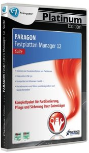 PARAGON Festplatten Manager 12 (Suite) - Platinum Edition
