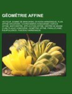 Géométrie affine