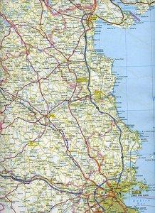 KuF Irland Strassenkarte 1 : 300 000