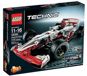 LEGO® Technic 42000 - Grand Prix Racer, 2in1 Modell