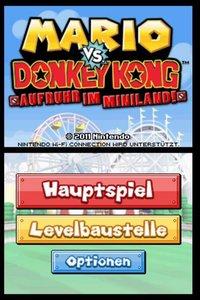 Donkey Kong: Aufruhr im Miniland. Nintendo DS