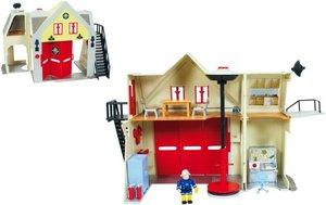 Simba Feuerwehrmann Sam Station m.Figur